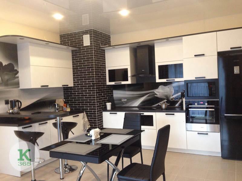 Черно-белая кухня Флорентин артикул: 20201665