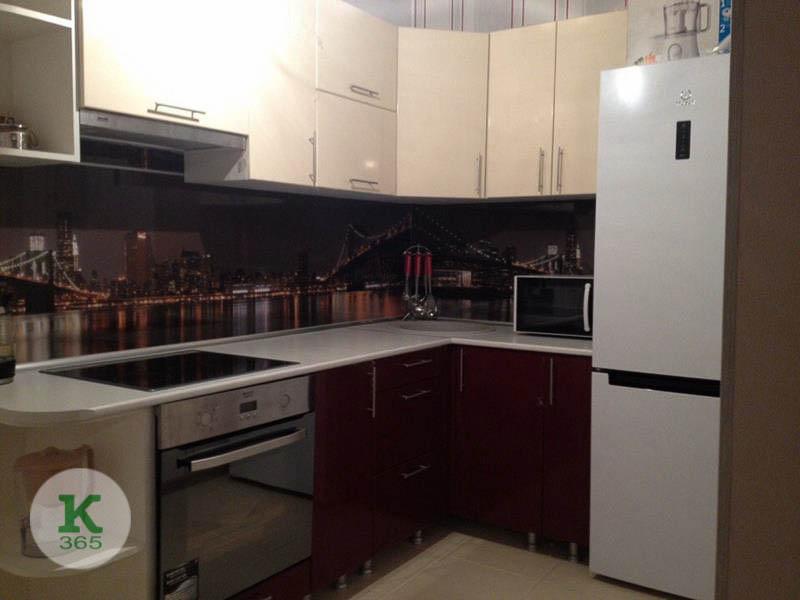 Бордовая кухня Эдуард артикул: 20240056