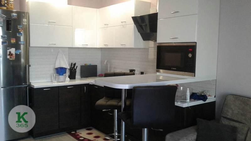 Черно-белая кухня Валентин артикул: 20387006