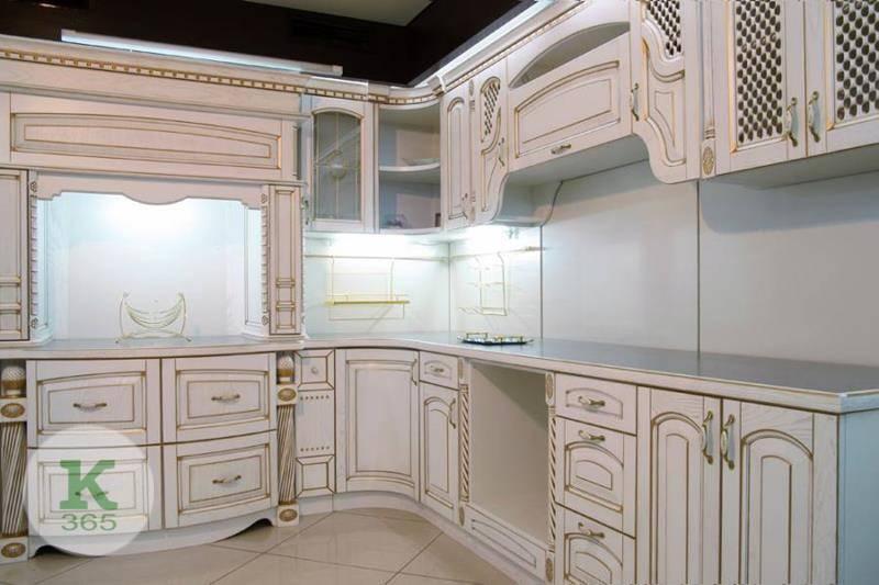Кухня белая с золотом Кастелано артикул: 171113