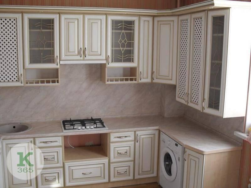 Кухня белая с золотом Буш артикул: 172872