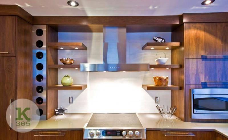 Кухня с открытыми полками Домус Квадро артикул: 365513