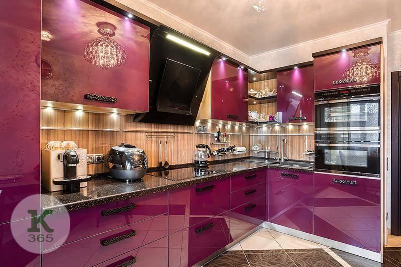Сиреневая кухня Иоланта Квадро артикул: 368941