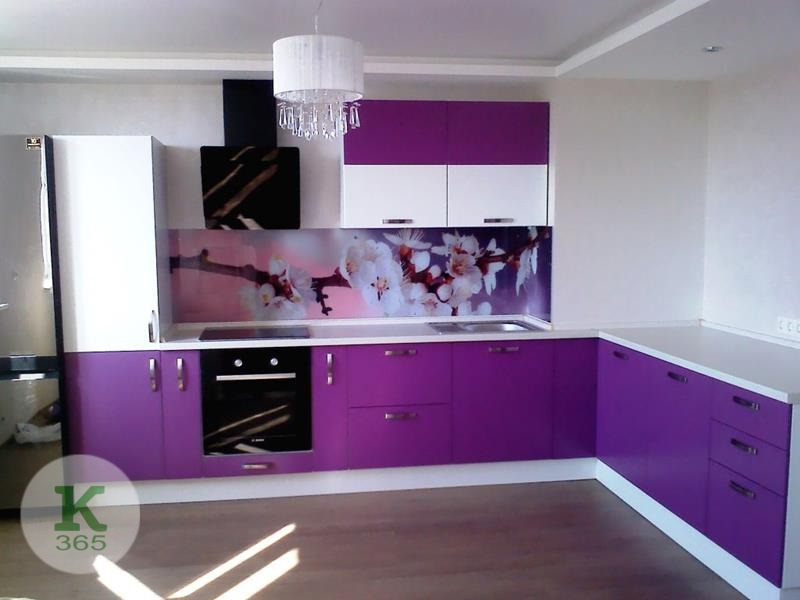 Сиреневая кухня Анабель Квадро артикул: 369800