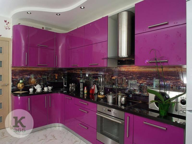 Сиреневая кухня Модерн Квадро артикул: 371522