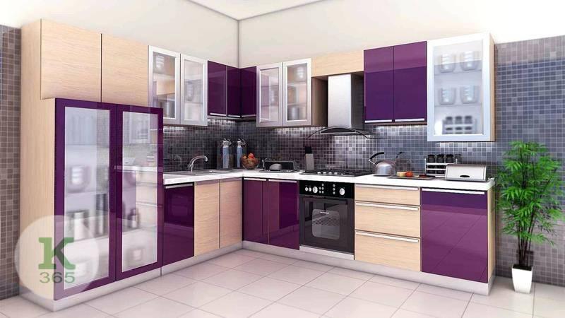 Сиреневая кухня Классика Квадро артикул: 373248