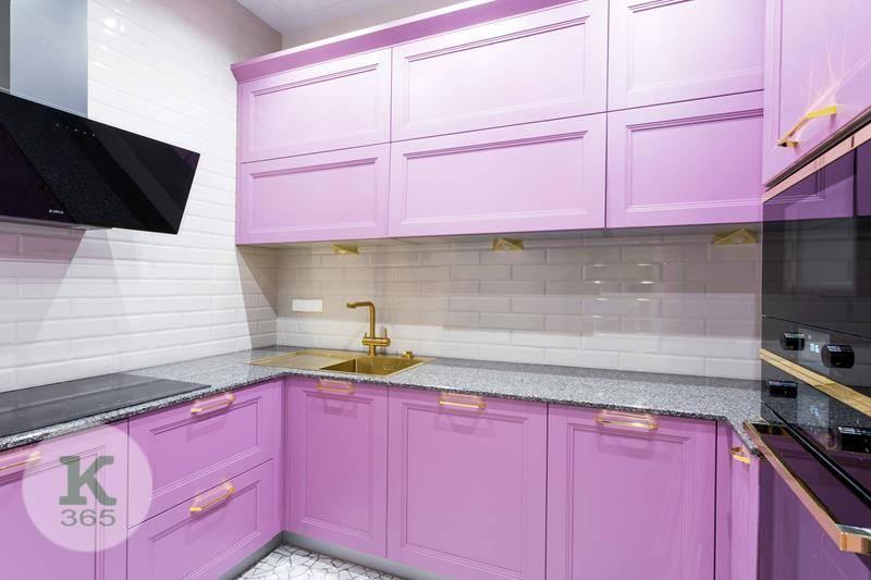 Сиреневая кухня Олса Квадро артикул: 379321