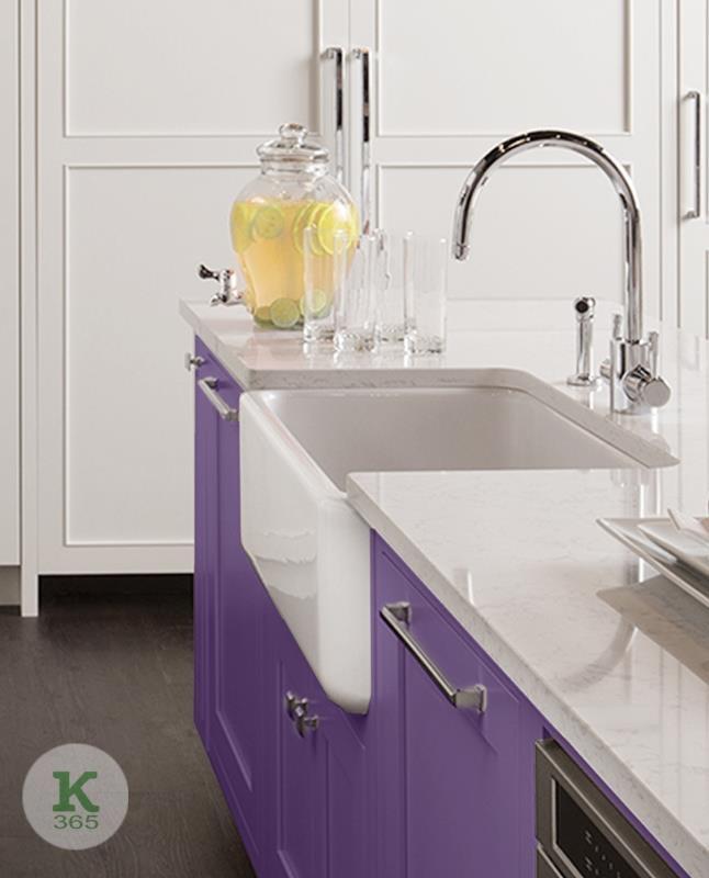 Сиреневая кухня Йорк Квадро артикул: 381938