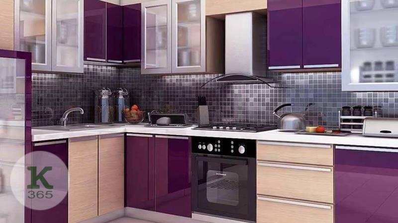 Сиреневая кухня Арес Квадро артикул: 382813