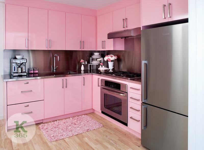 Розовая кухня Амели Квадро артикул: 483145