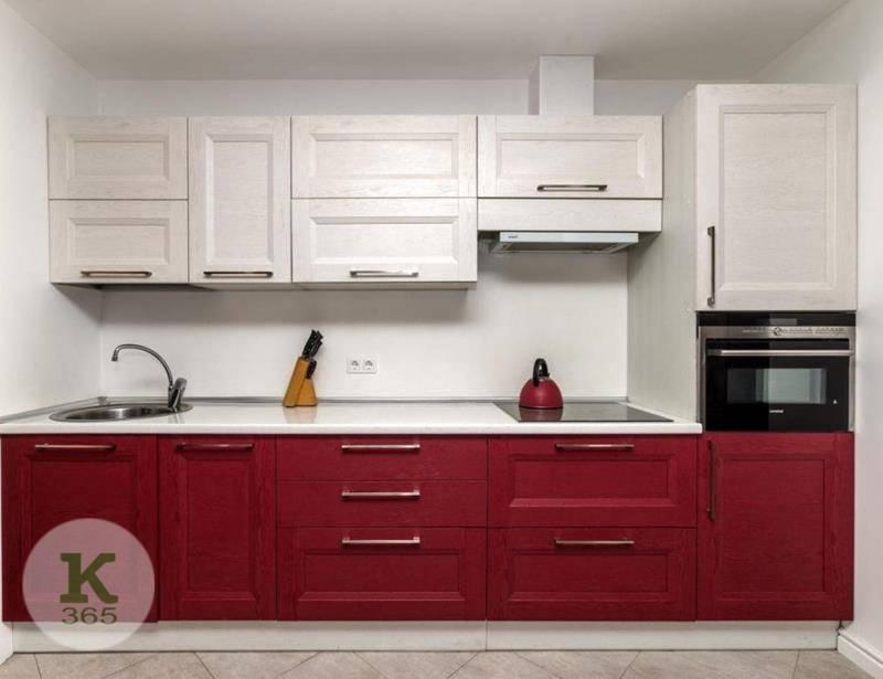 Бордовая кухня Амиака артикул: 51842