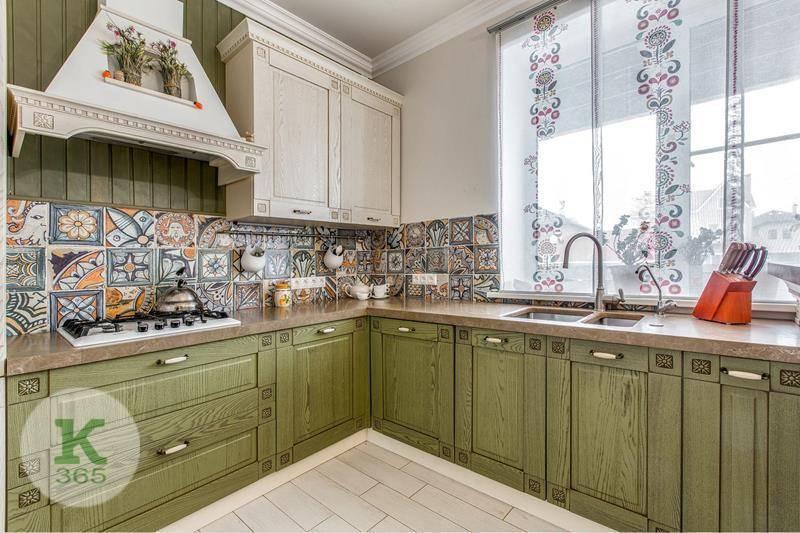 Кухня в деревенском стиле Кредо артикул: 58141