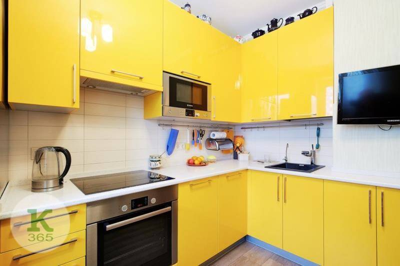 Желтая кухня Марта артикул: 66248